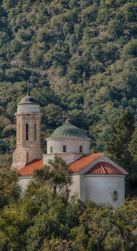 Hillside Curch Near Kotor