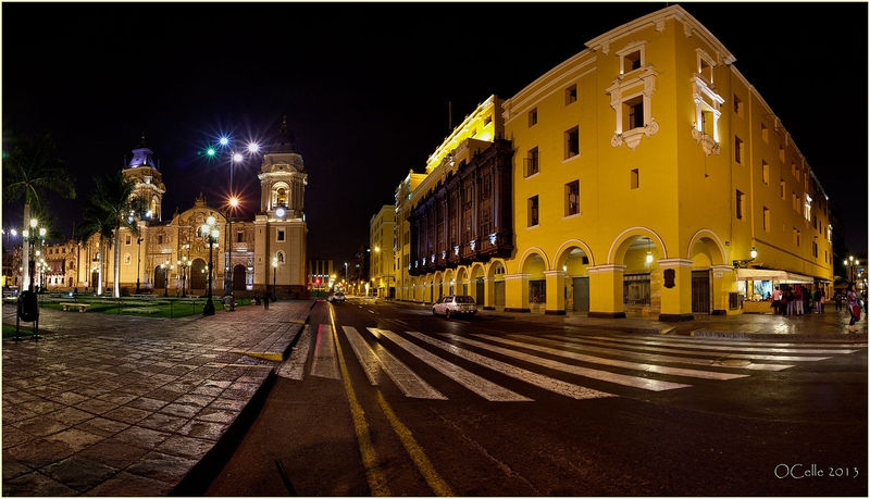 Lima, Colonial downtown