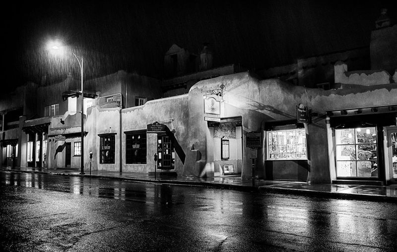 Night Rainstorm, Santa Fe