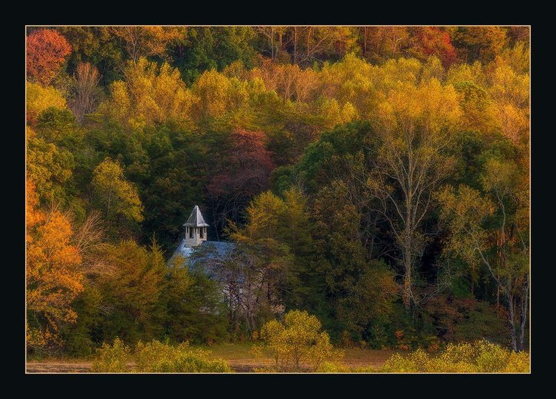 Church in Cade's Cove