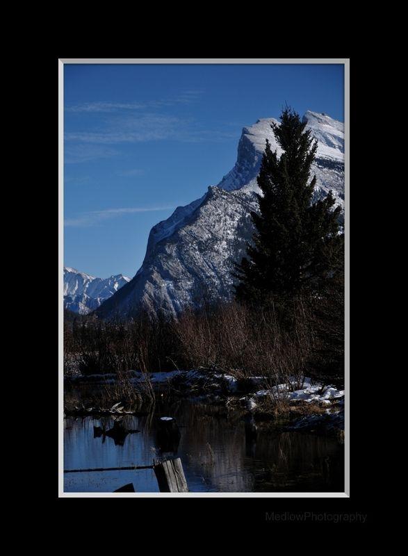 Banff 09 mtn view