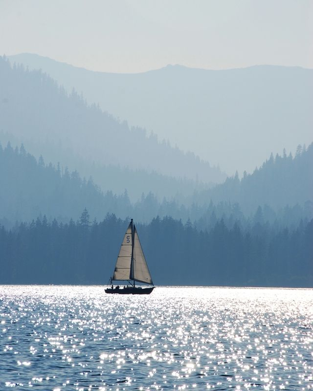 Tahoe Sailboat