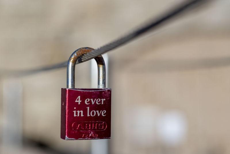 Love is locked