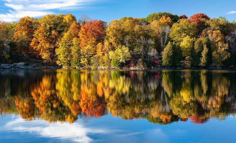 Quarry Lake Autumn Colors