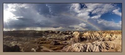 Rain at Blue Mesa