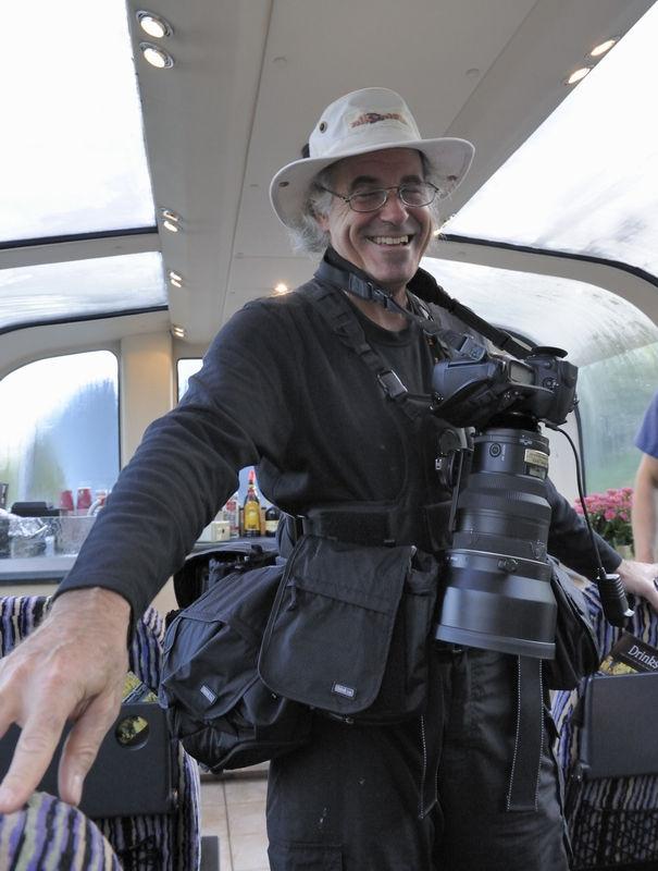 Rick Hulbert (rhulbert) aka Mr. Luggage aka Mr. Equipment
