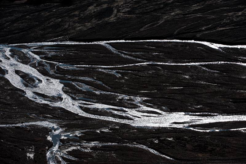 Braided River Abstract I