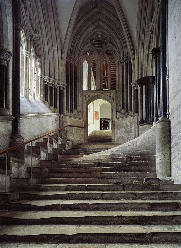 Chapter House steps