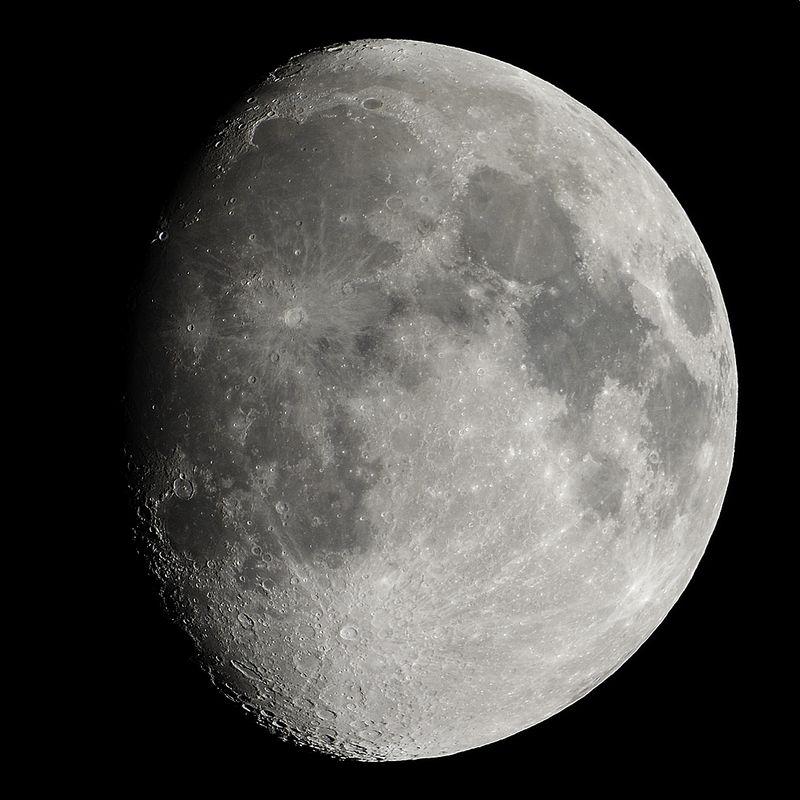 Moon, 7-8-2014
