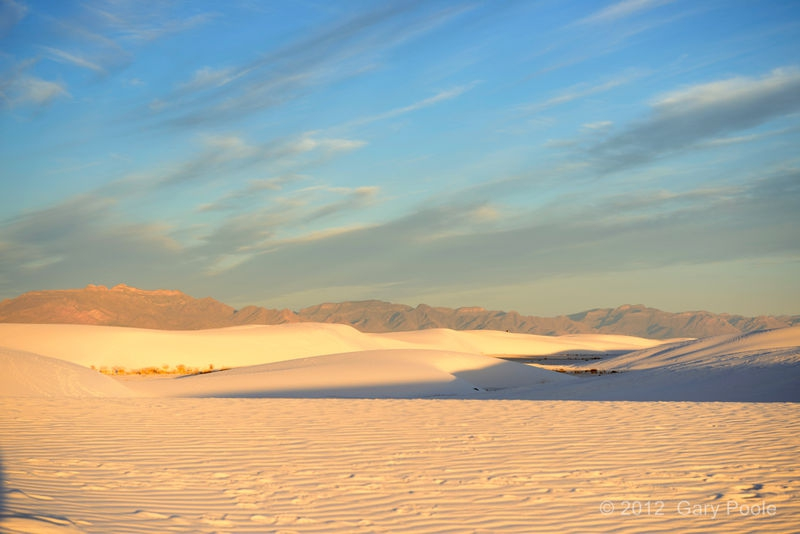 Sunrise at White Sands - 2