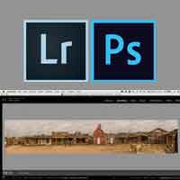 A Custom Approach to Panoramas with Lightroom