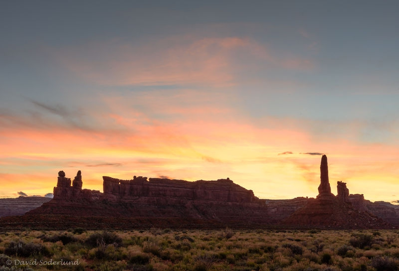 Valley of the Gods Sunset