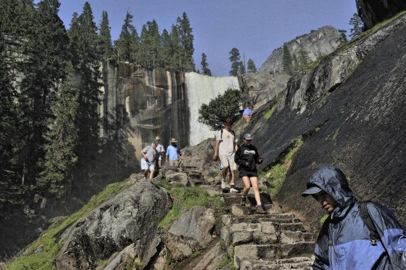 Yosemite 2009 Misty Trail