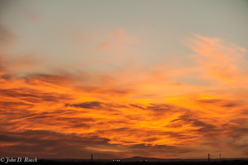 Sunset near Roswell, New Mexico