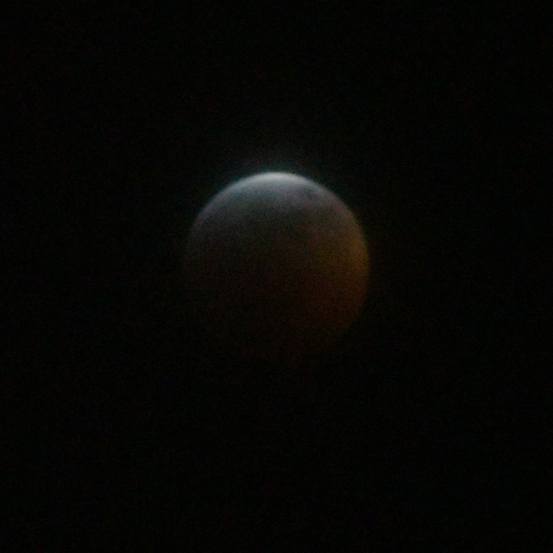 Lunar Eclipse, 20 January 2019
