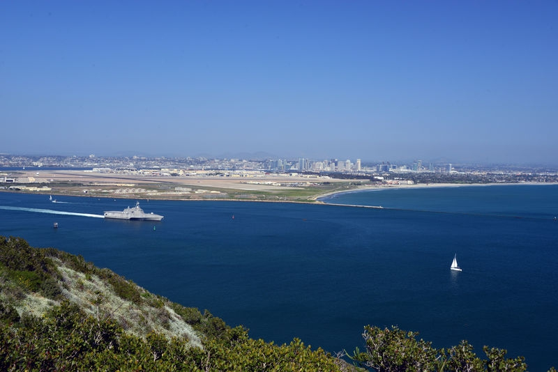San Diego CA from Point Loma