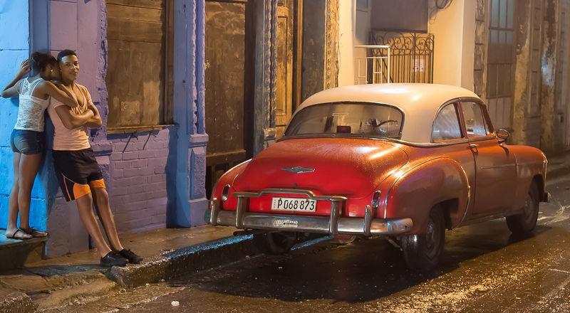 Night Time in Havana