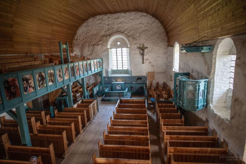 St. Olaf's Church Interior