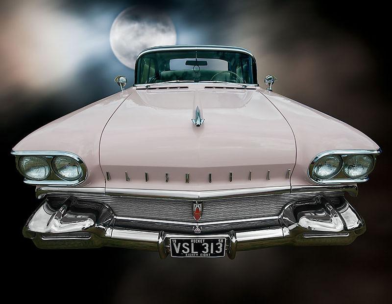 Pink Oldsmobile - Moon