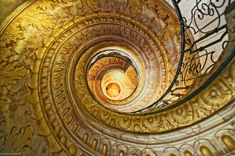 Stairways in color