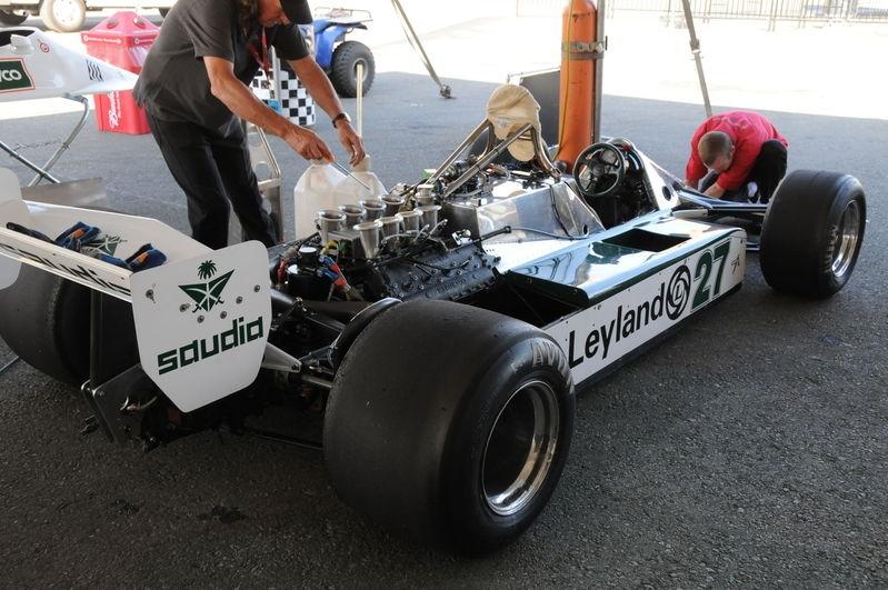 August 2009, Historic Grand Prix Cars, Vintage Paddock