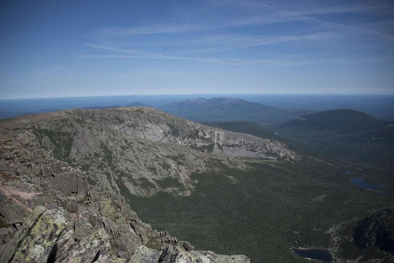 View from Summit of Mount Katahdin