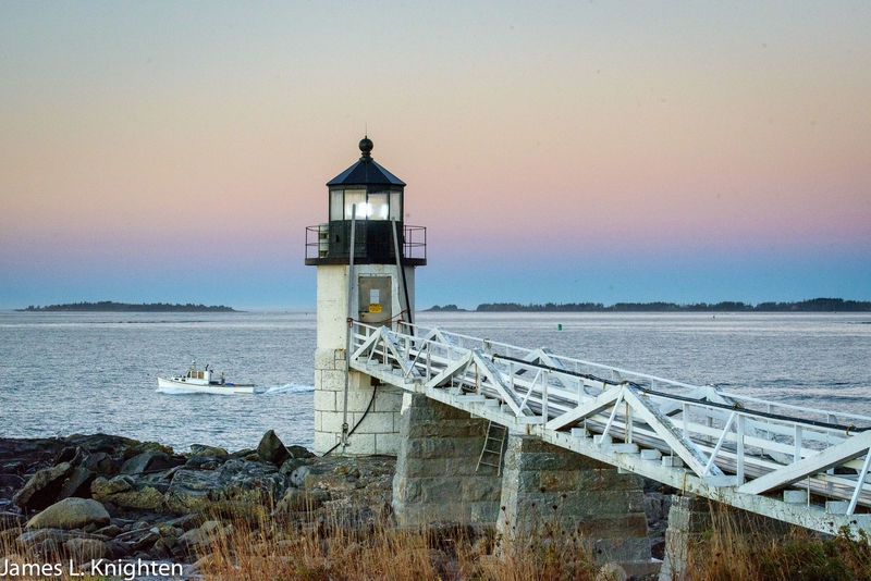Marshall Point Lighthouse at Sunrise