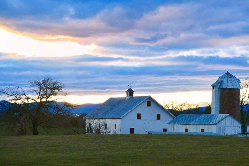 Rockland Farm at Blue Hour