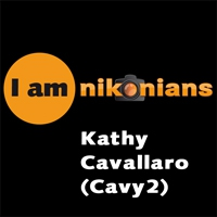 Kathy Cavallaro (Cavy2) is an advanced amateur photographer, member of Nikonians since 2006. Amenable, amicable and always sharing her images and varied knowledge while furthering her own, she is a good example of the true Nikonians spirit. It is our great pleasure to present you a brief interview with her and some of her beautiful images.