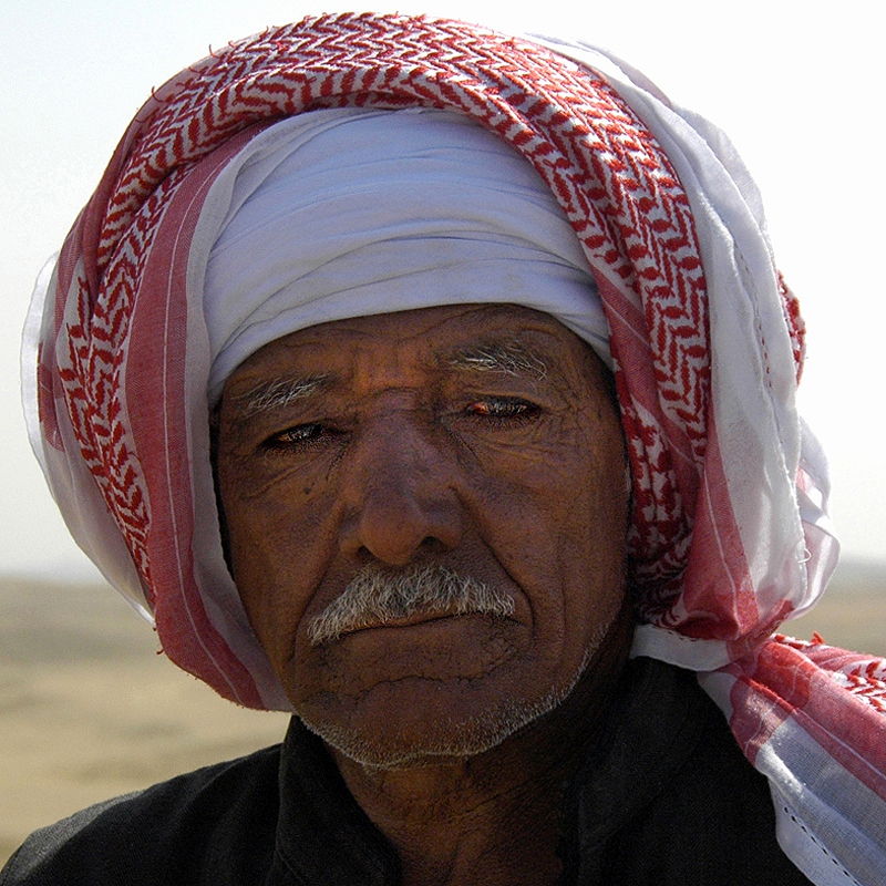 Man of the Egyptian desert