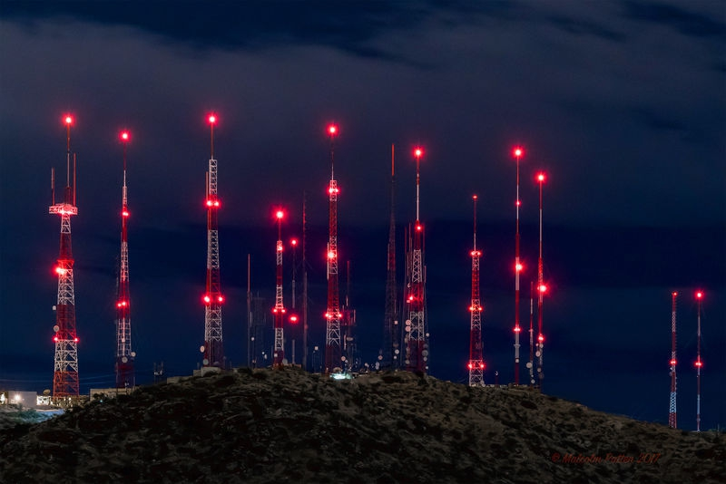 Night Lights - South Mountain, Phoenix, Arizona