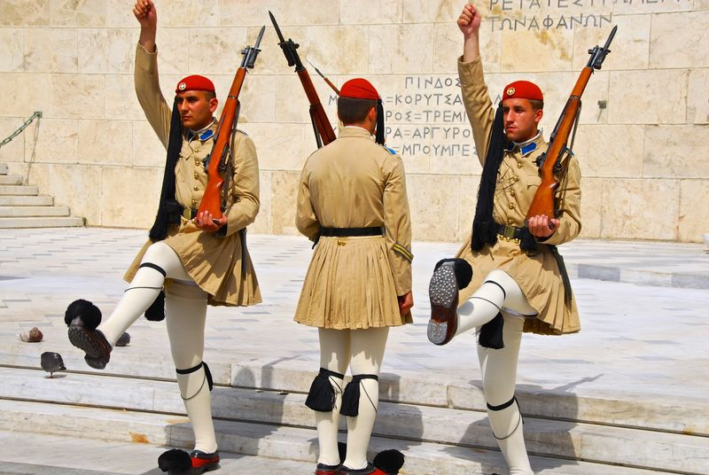 Greek Changing of the Guard