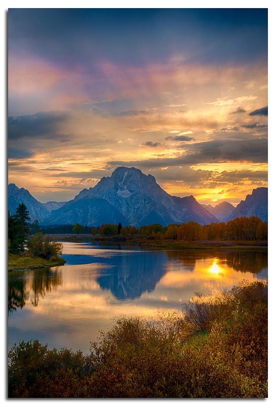 Sunset, Ox Bow Bend