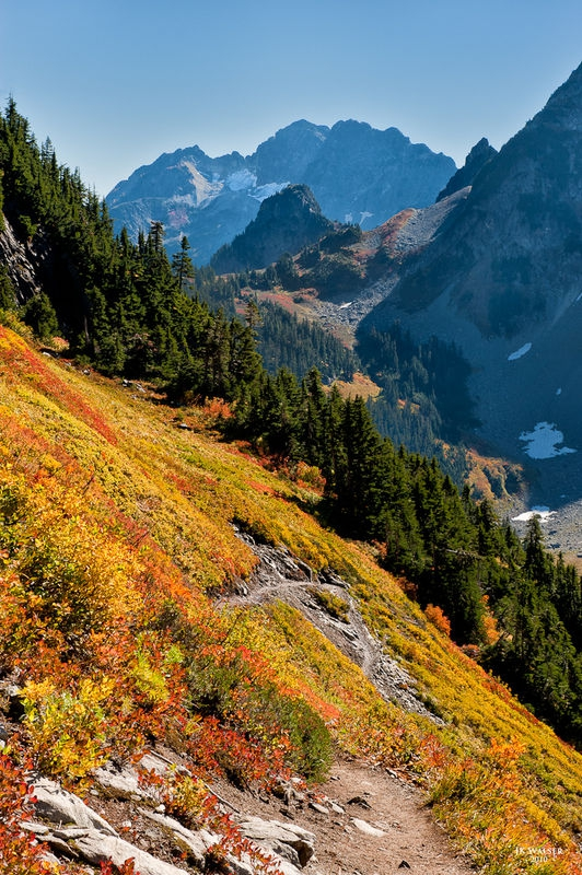 Autumn at Cascade Pass