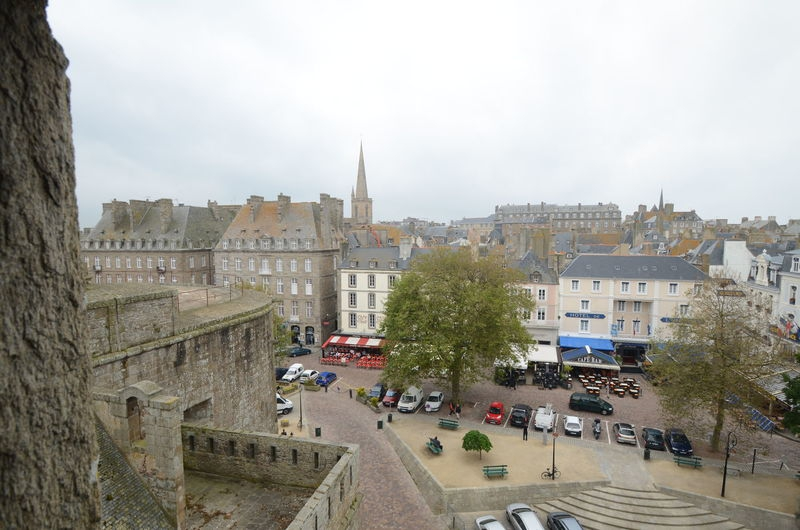 Saint Malo,view from casttle