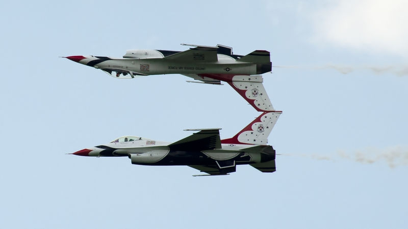 Thunderbirds at Westmoreland County Airshow (July 28, 2018)