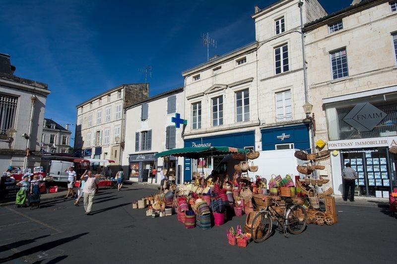 Fontenay Le Comte - the basket maker