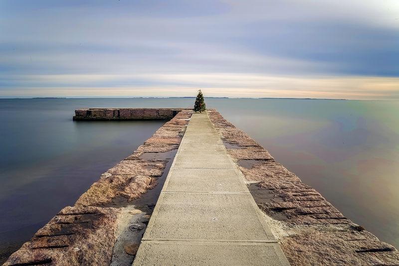 The Long Break Water Point