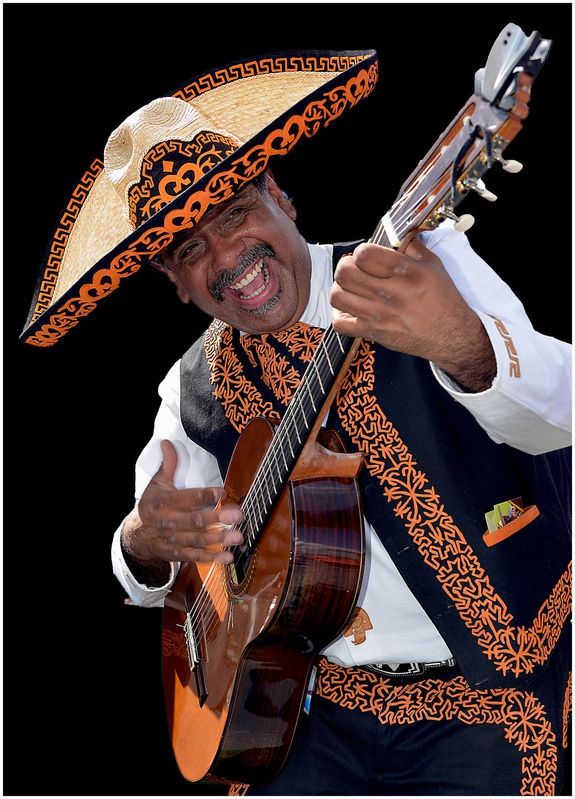 Mood of Mexico in Melbourne street concert