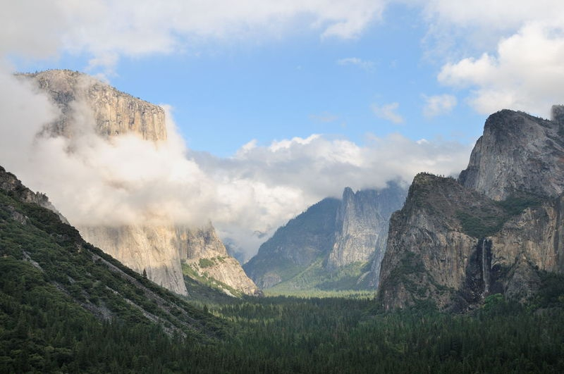 Tunnel View upon arrival - after the storm