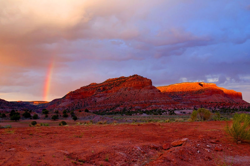 Coral Cliffs after the storm, Kanab, Utah