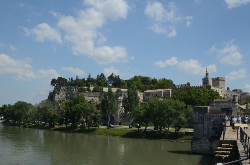 Avignon,view from the bridge