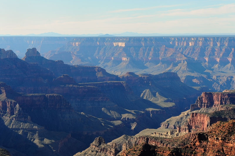 View from the North Rim Lodge at Grand Canyon