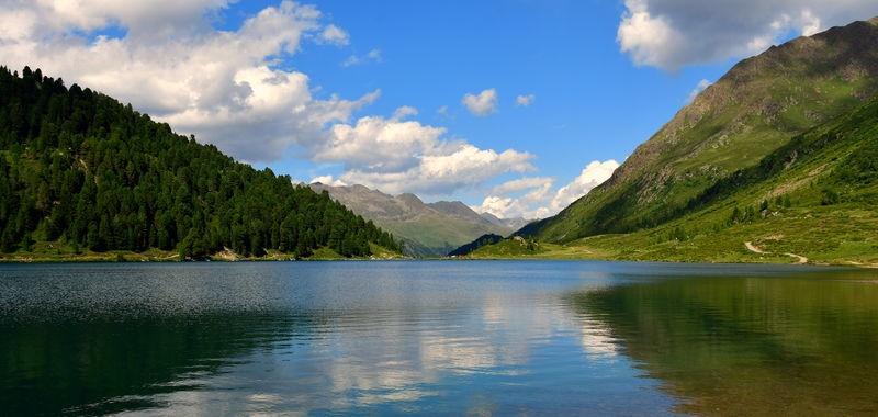 Staller Sattel Lake