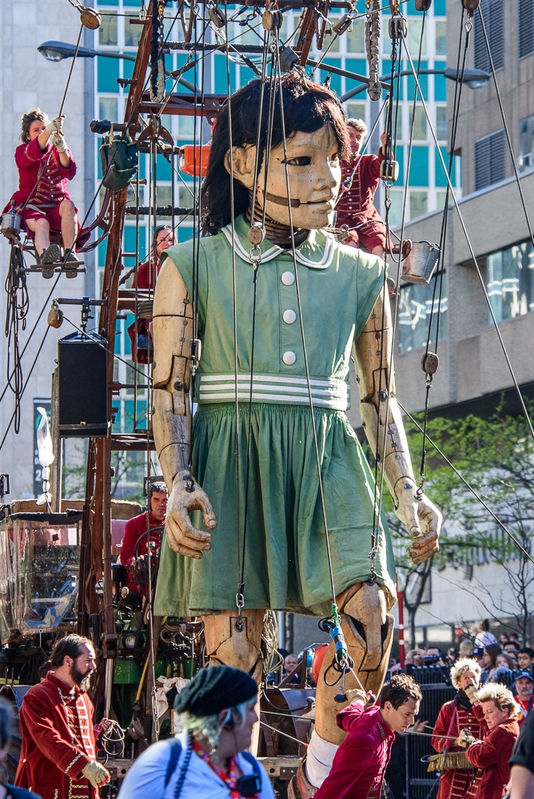 Giant Marionette - Little Girl