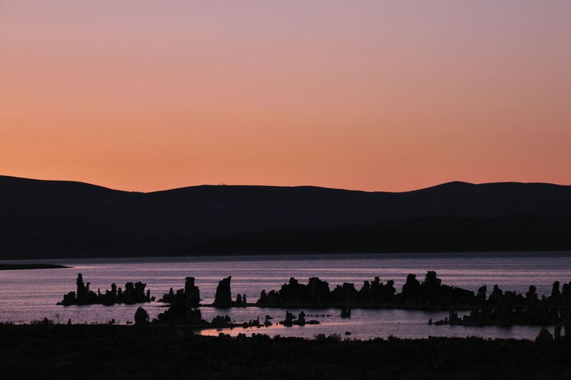 Sunset Mono Lake South Tufa