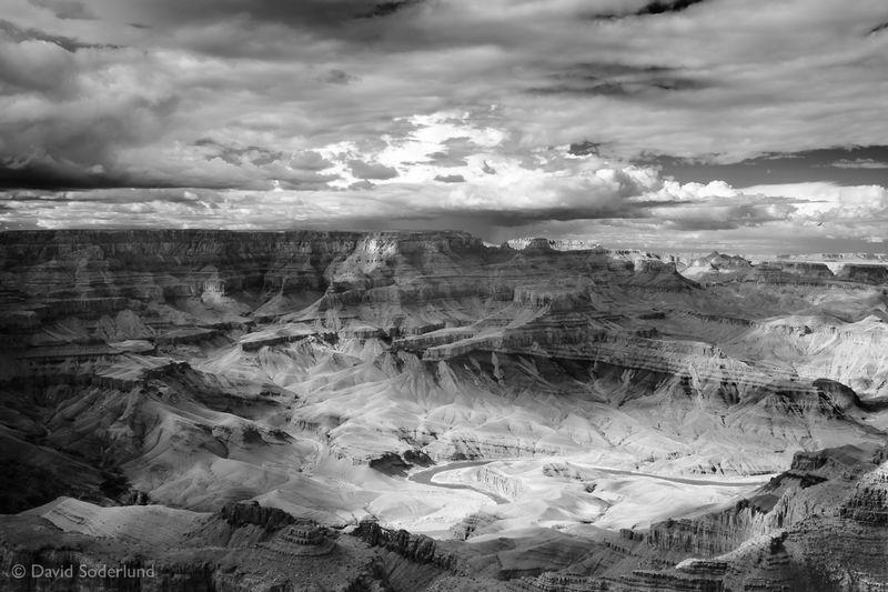Grand Canyon:  Gathering Storm