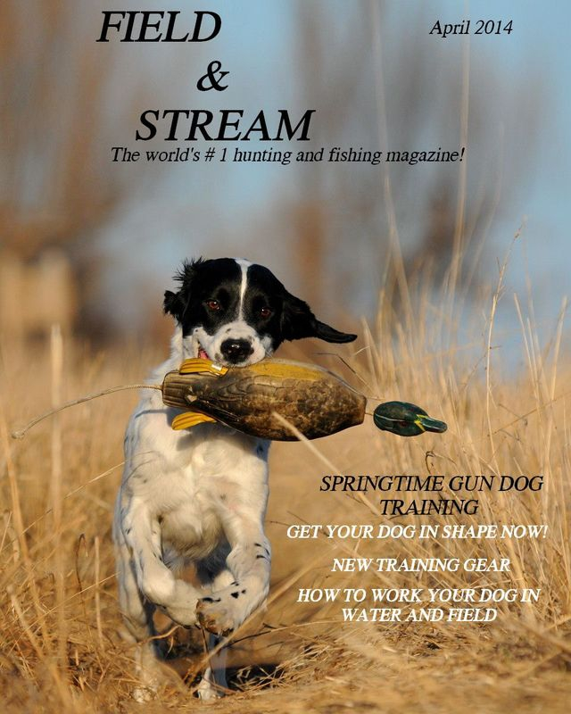 Cover Shot - Field and Stream Magazine