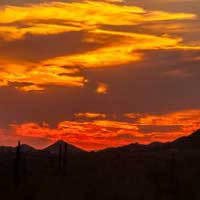 A Landscape Shooting Experience: Superstition Mountains, Arizona