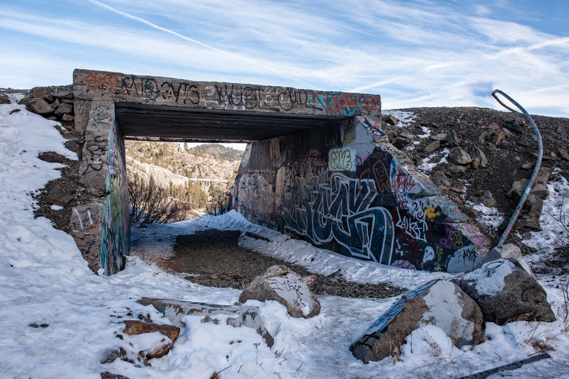 Donner Summit, Old Route 40 Underpass